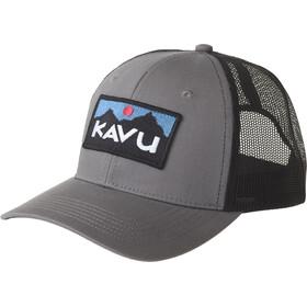 KAVU Above Standard Trucker Hat charcoal